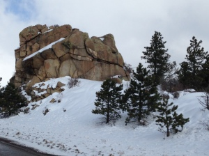 Continental Divide with SNOW!